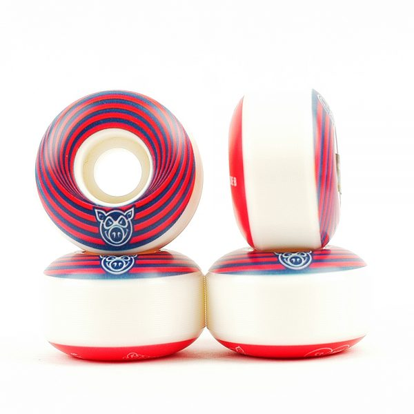 Pig Vertigo Wheels Red 53mm