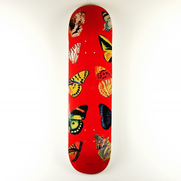 Quasi Butterfly Two Deck Red 8.25