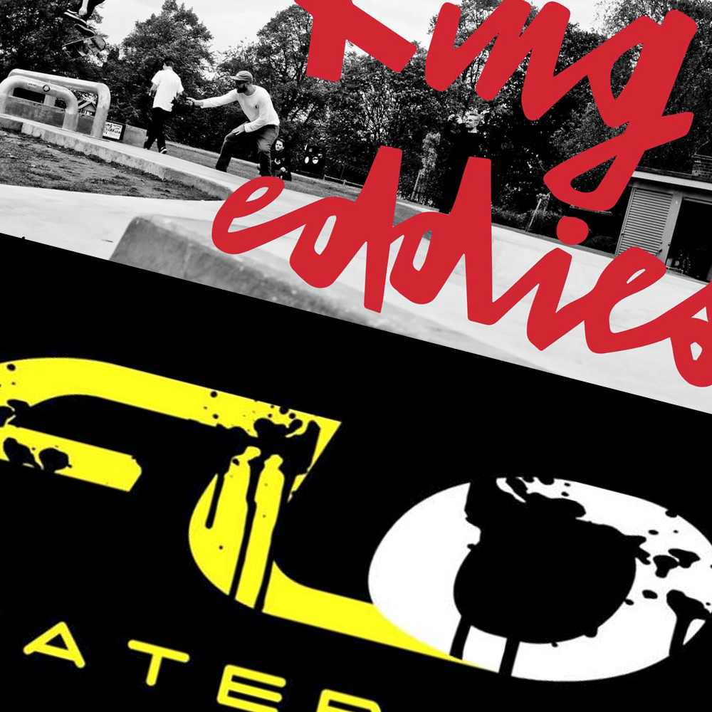 Image showing Flo Skatepark Nottingham logo and king edwards skatepark Nottingham logo
