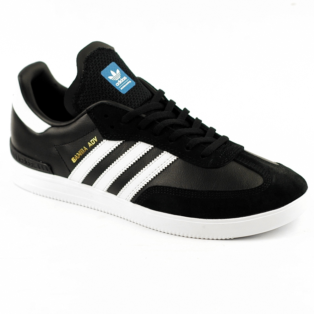 adidas samba adv black white bluebird forty two. Black Bedroom Furniture Sets. Home Design Ideas