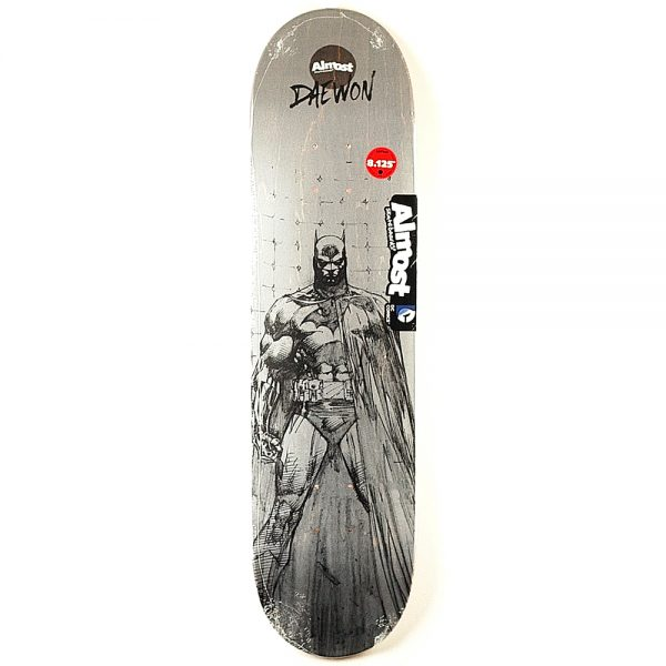Almost Daewon Batman Pencil Sketch R7 Deck 8.125