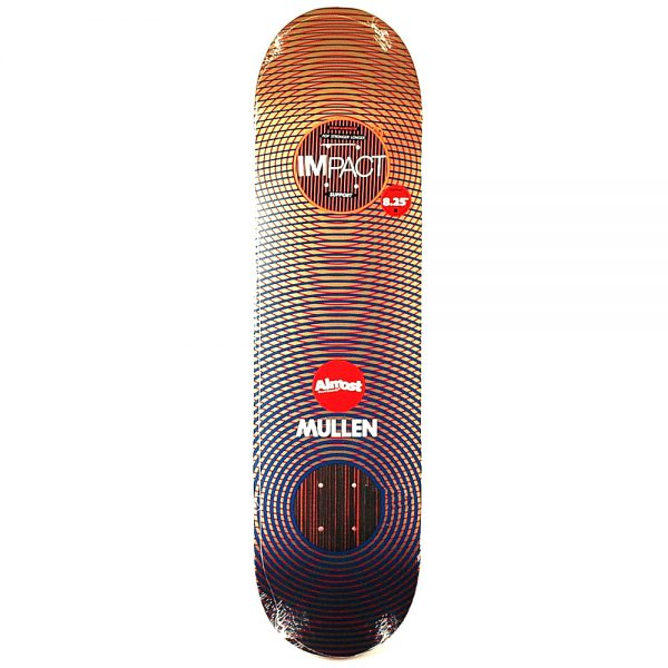 Almost Mullen Metallic Vibes Impact Deck 8.25