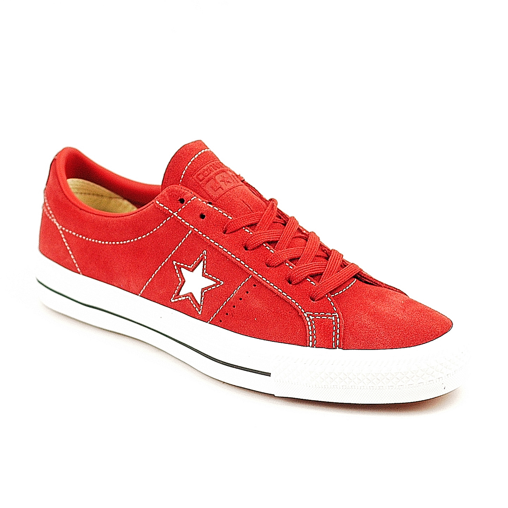 bb2a9f03f658bf Converse One Star Ox Terra Red - Forty Two Skateboard Shop