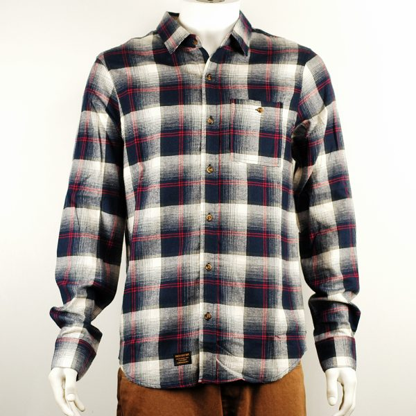 Grizzly Humboldt Shirt Navy