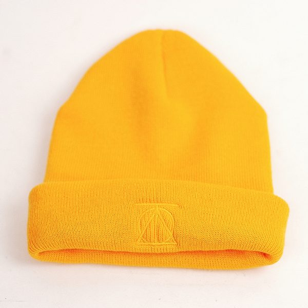 Theories Crest Beanie Gold