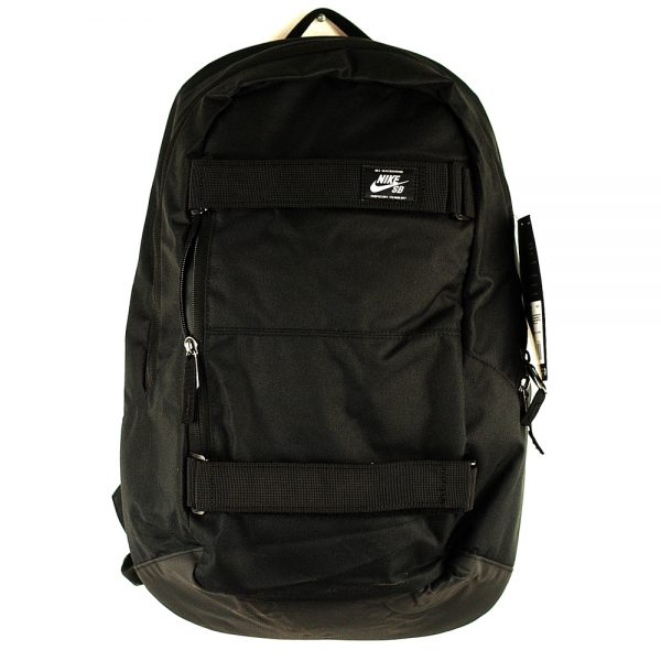 nike courthouse skateboard backpack Black