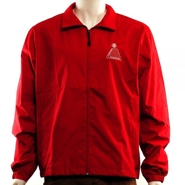 theories theoramid jacket red-white