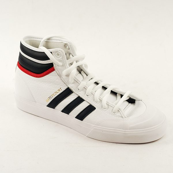 Adidas Matchcourt High White-Navy-Scar