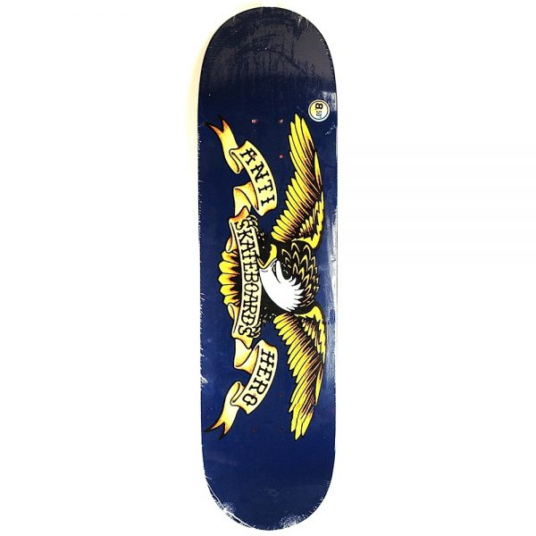 Anti Hero Classic Eagle XL Deck Blue 8.5