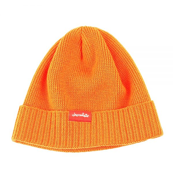 Chocolate All Season Fold Beanie Orange