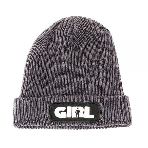 Girl Advertype Beanie Charcoal
