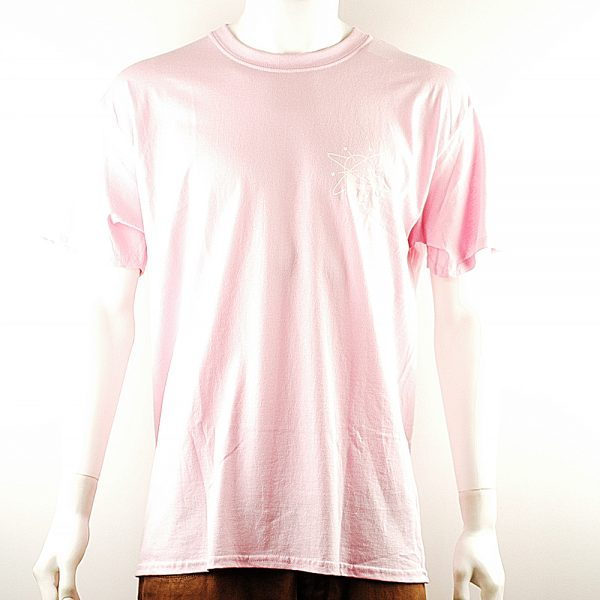 National Skate Co Spin Tee Pink