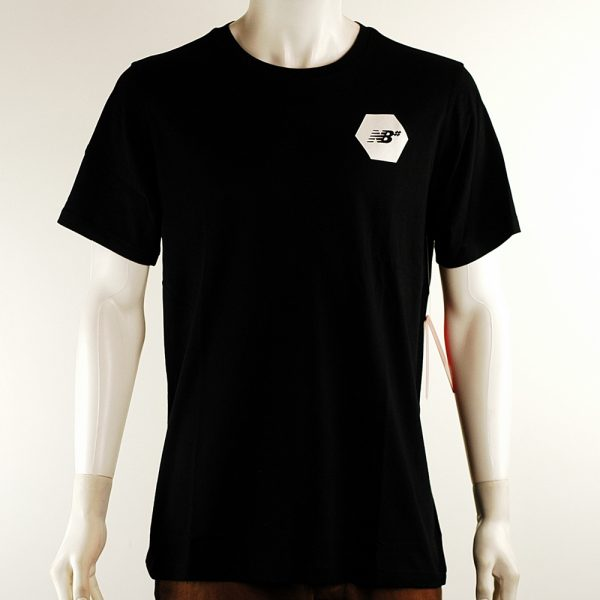 New Balance Numeric Hex Tee Black Front