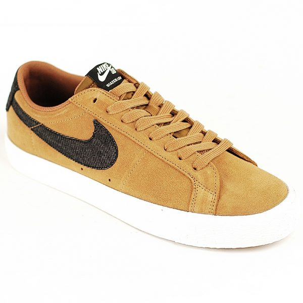Nike SB Blazer Low Golden Beige-Black