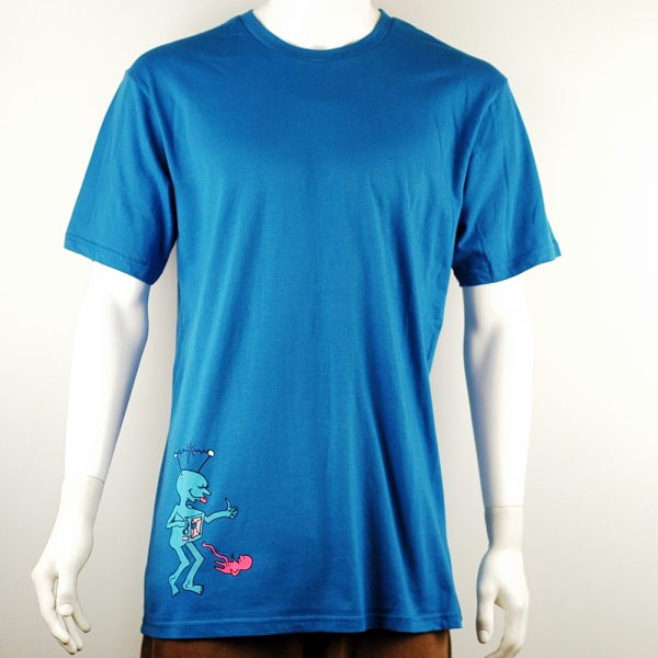 Polar Skate Co TV Kid Tee Royal Blue2