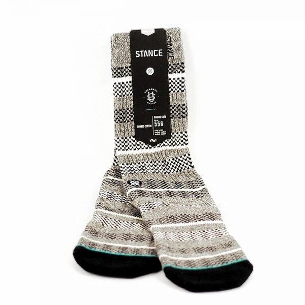 Stance Uncommon Solids Sampson Socks Grey