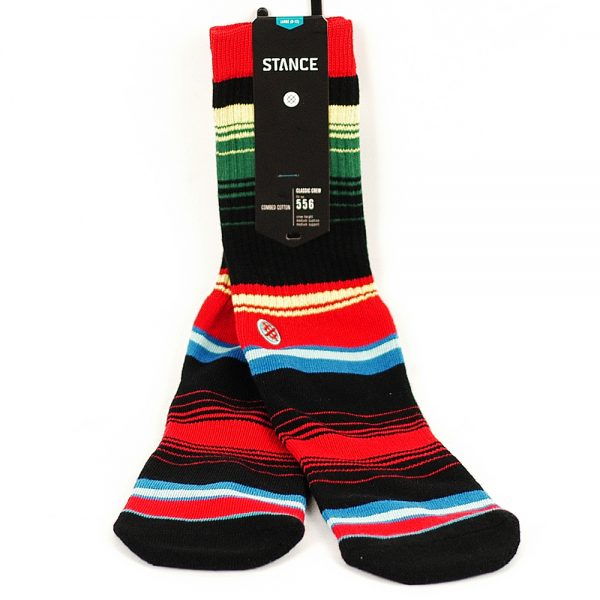 stance side step poniente socks red large