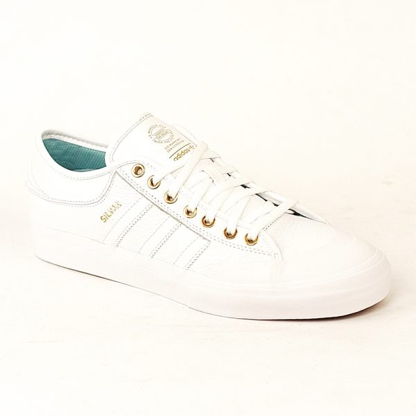 Adidas Matchcourt White-Gold-Ice Blue Single