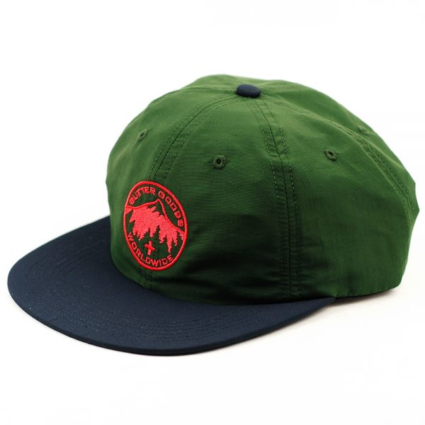 Butter Good Peak 6Panel Cap Forest