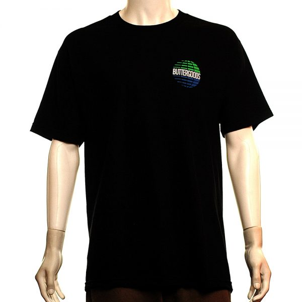 Butter Goods Multinational Tee Black Front