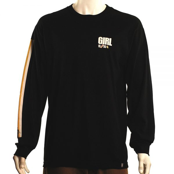 Girl Industry L:s Tee Black Front