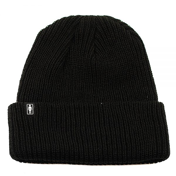 Stay warm with this knit beanie. With a solid color and a classic silhouette, this beanie will pair with any outfit.