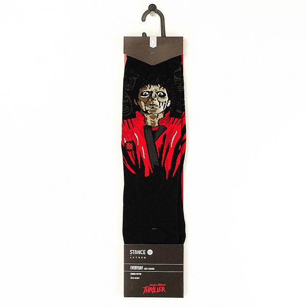 Stance Anthem Thriller Socks Black