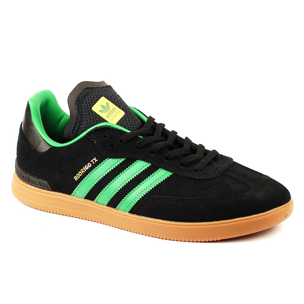 adidas samba adv black green gum forty two skateboard shop. Black Bedroom Furniture Sets. Home Design Ideas