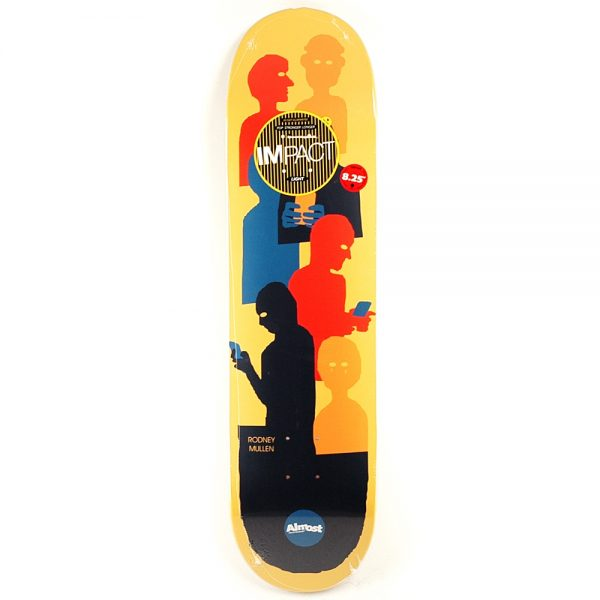 Almost Mullen Text Impact Light deck 8.25