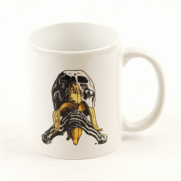 Blind Skull and Banana Coffee Mug