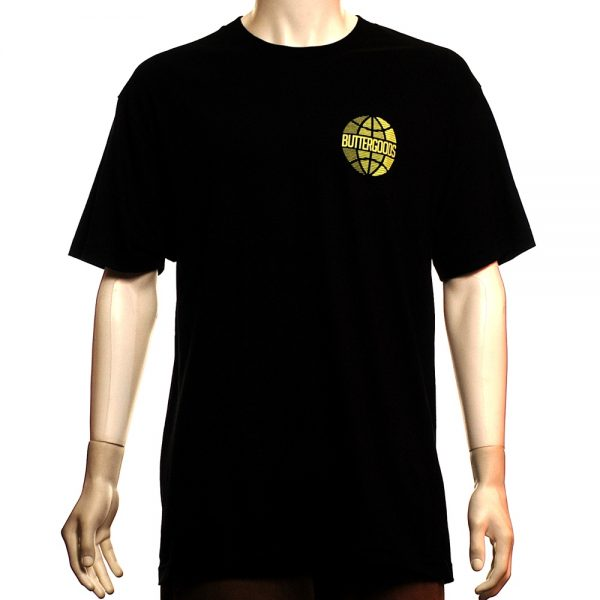Butter Goods Lateral Worldwide Tee Black