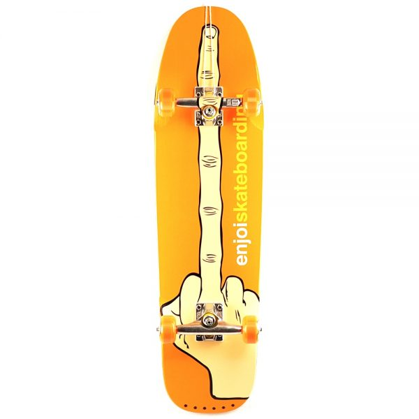 Enjoi The Bird Cruiser Complete Skateboard Orange Main