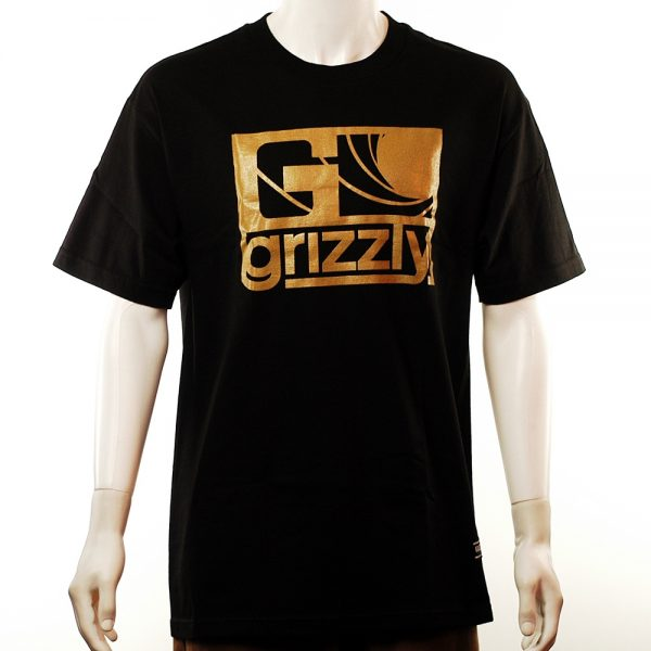 Grizzly Golden Eye Tee Black