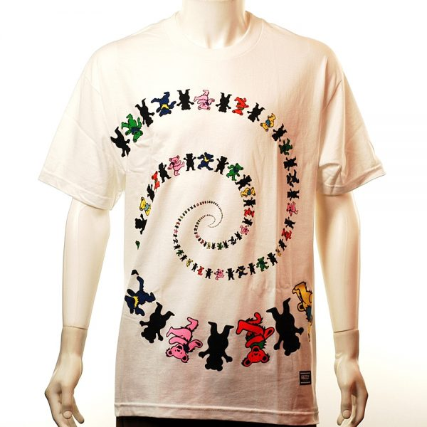 Grizzly Have A Nice Trip Tee White