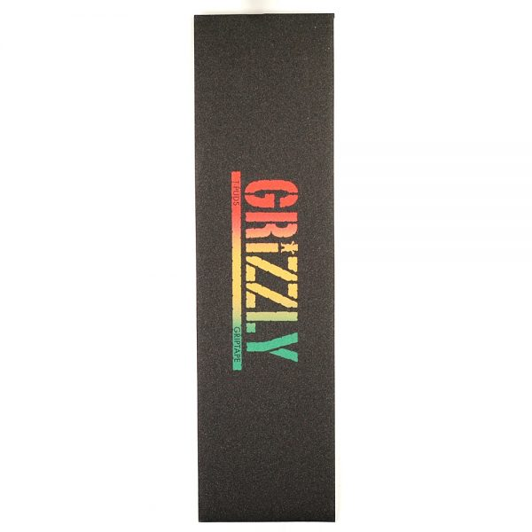 Grizzly T Puds Rasta Stamp Griptape
