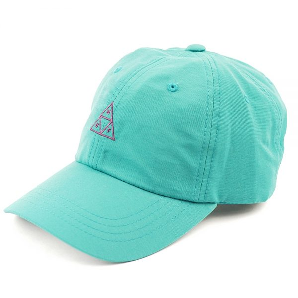 HUF Triple Triangle Curved Visor 6Panel Cap Jade