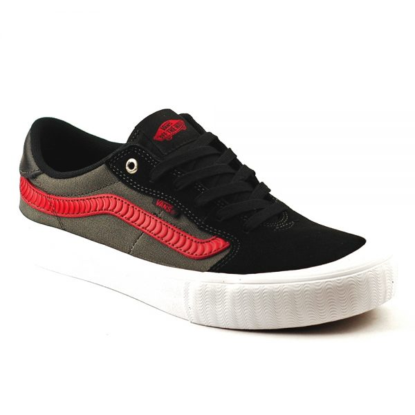 Vans Uk Skateboard Shoes Style 112 Spitfire Collaboration Black White red