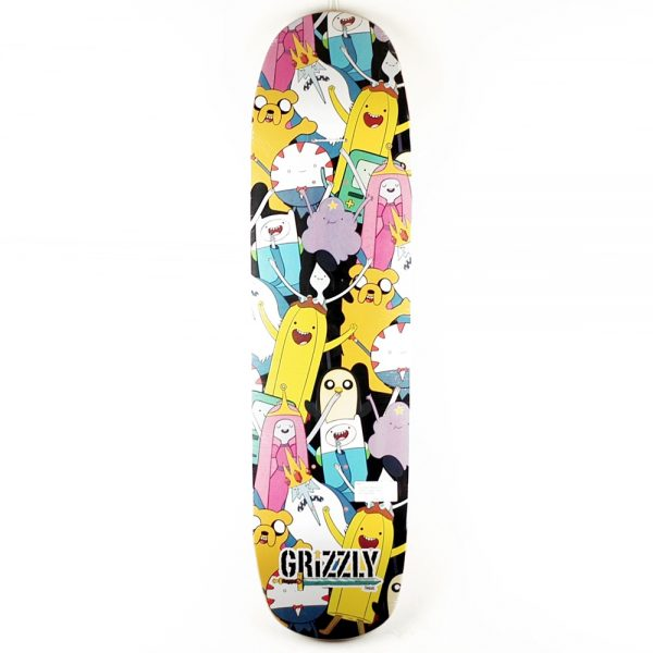 Grizzly x Adventure Time Cruiser Deck 8.3 OneSize