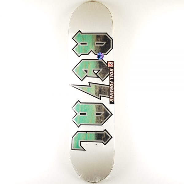 Real Deeds Deck White Out 8.12 OneSize
