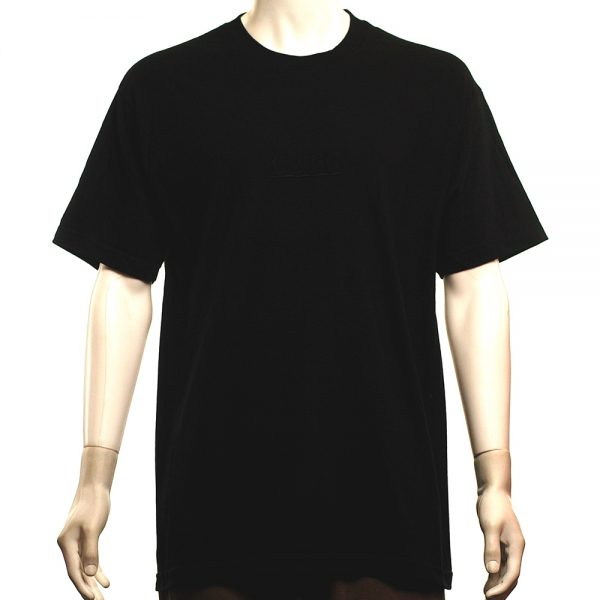 Skateboard Cafe Embroidered Tee Blackout Main