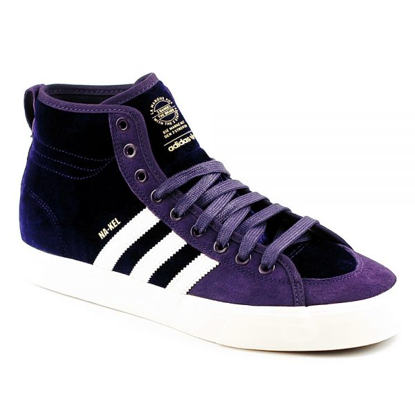 Adidas Skateboarding UK Matchcourt Nakel Smith Deep Purple Skate Shoe