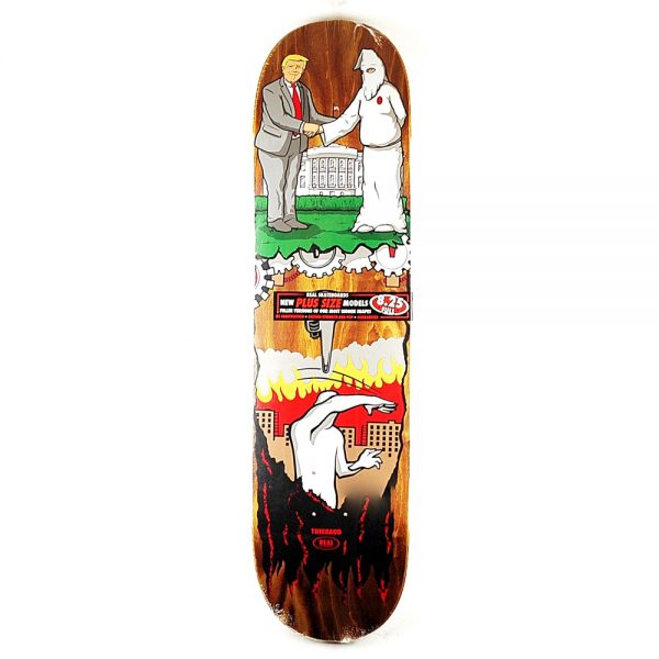 Real Skateboards Trump Wrench Justice Deck 8.25