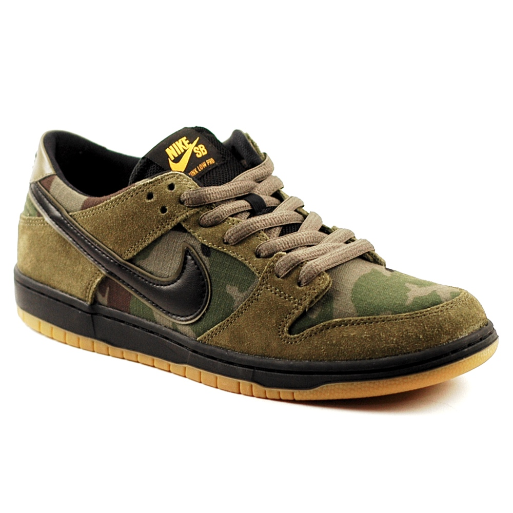 nike sb dunk low pro olive camo forty two skateboard shop. Black Bedroom Furniture Sets. Home Design Ideas