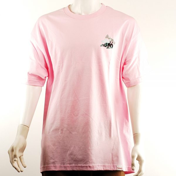 Diamond Blue Hornets Tee Pink Front