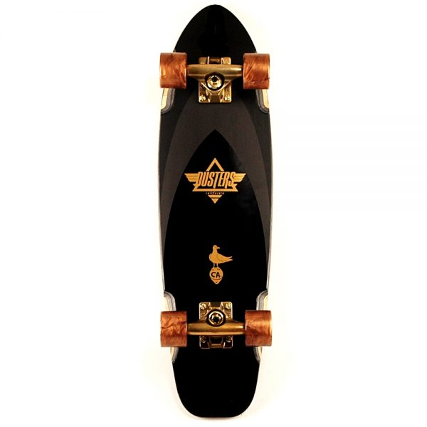 Dusters Bird Raven Cruiser 27Inch Complete Black:Gold Main