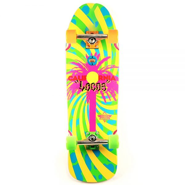 Dusters California Locos Cruiser Complete 31Inch Green:Yellow Main
