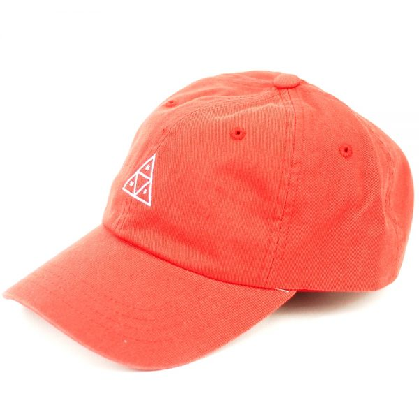 HUF Triple Triangle Curved Visor 6 Panel Rose