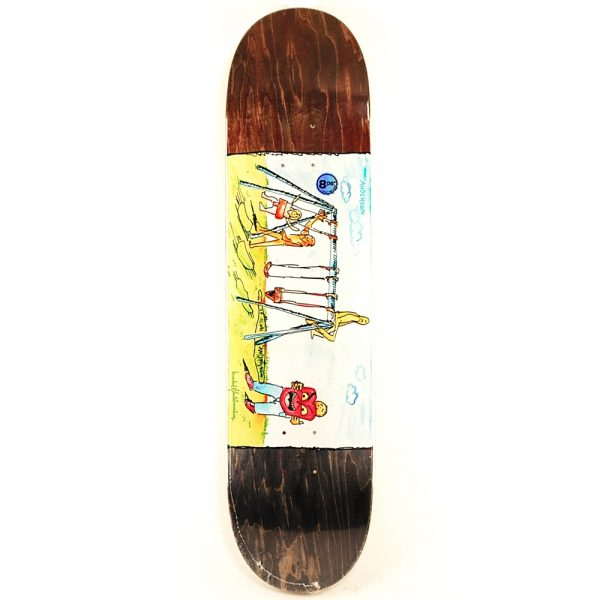Krooked Pro Anderson Swingin Brown Deck 8.06