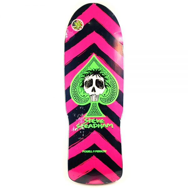 Powell Perelta Steadham Skull and Spade Deck Black 10.0