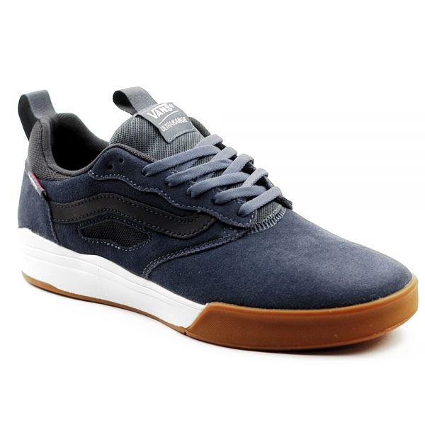 Vans UK Ultra Range Pro Skateboarding Shoe Indigo